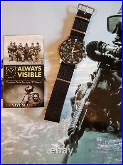 Mega Rare 2005 Luminox 3100 200m navy seals watch swiss made, with box