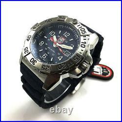 Men's Luminox Navy SEAL 45mm Blue Steel Divers Watch 3253