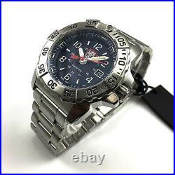 Men's Luminox Navy SEAL 45mm Stainless Steel Divers Watch 3254