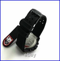 Men's Luminox Navy SEAL Blackout Chronograph Diver's 45mm Watch 3581. BO