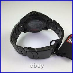 Men's Luminox Navy SEAL Blackout Diver's 200 m Steel Watch 3252. BO