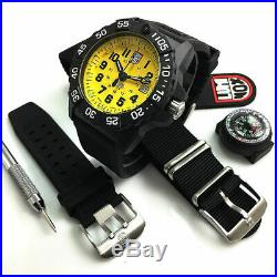 Men's Luminox Navy SEAL Scott Cassell Watch Set 3505. SC. SET