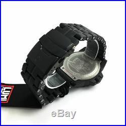 Men's Luminox Navy SEAL Trident Diver's Blackout Watch 3502. BO