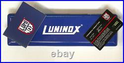 NEW $595 GENTS 44mm BLACK DIAL LUMINOX NAVY SEALS CORONADO SWISS DIVE WATCH 3025