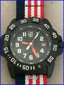NEW LUMINOX Patriot Navy Seal Limited 3501LM. SET AUTHORIZED DEALER