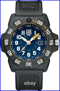NEW Luminox Navy SEAL Foundation Blue Dial/Black Strap Men's Watch XS. 3503. NSF