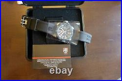 NIB Luminox 3153. BTOB Navy Seal Colormark Black Watch, Swiss Made, MSRP $695