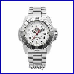 NWT Genuine Luminox XS. 3258 Navy Seal 45mm Stainless Steel Men's Watch