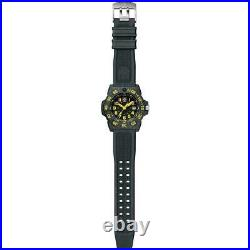 NWT Luminox XS. 3505. L Navy Seal Black/Yellow Carbonox 200m Quartz Men's Watch
