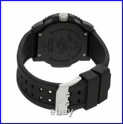 New Luminox 3059 Us Navy Seal Colormark 44mm Orange Swiss Quartz Watch