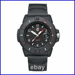 New Luminox Navy Seal 3600 CARBONOX Black Dial Rubber Band Men's Watch XS. 3615