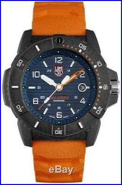 New Luminox Navy Seal 3600 CARBONOX Blue Dial Rubber Band Men's Watch XS. 3603