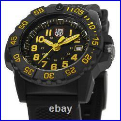 New Luminox Navy Seal Black Dial Black Rubber Strap Men's Watch XS. 3505. L