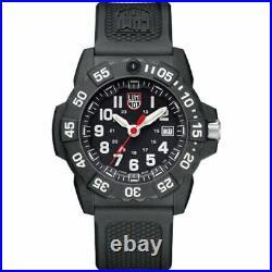 New Luminox Navy Seal Black Dial Rubber Strap Men's Watch XS. 3501. F