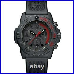 New Luminox Navy Seal Chronograph Black Dial Black Men's Watch XS. 3581. EY