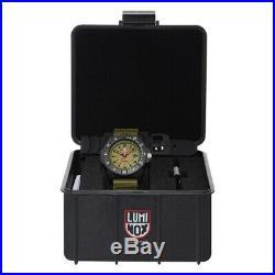 New Luminox Navy Seal Sea Series 45mm Khaki Green Dial Strap Rubber 3617. Set