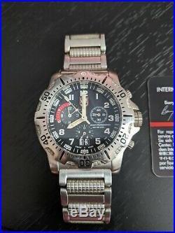 Pre-Owned Luminox Swiss Navy Seal Divers watch series 8150/8350