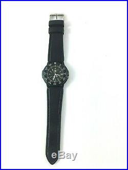 Vintage Luminox Navy Seals 200m Watch Swiss Made Runs Water Resistant Calendar