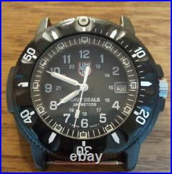 Vintage Luminox Navy Seals Series 3900 Men's Watch Analog Used Authentic